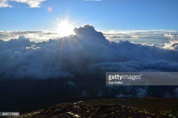 Sunrise views from Mt.Fuji