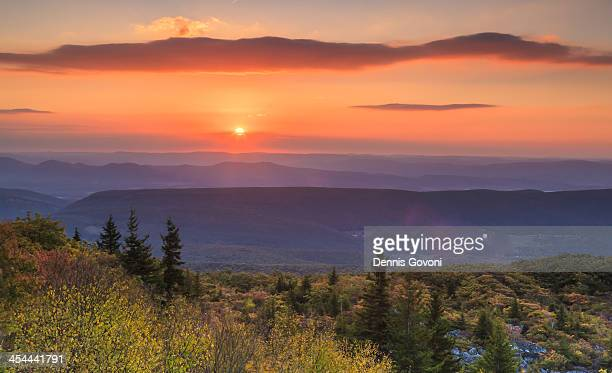 Sun's up at Dolly Sods