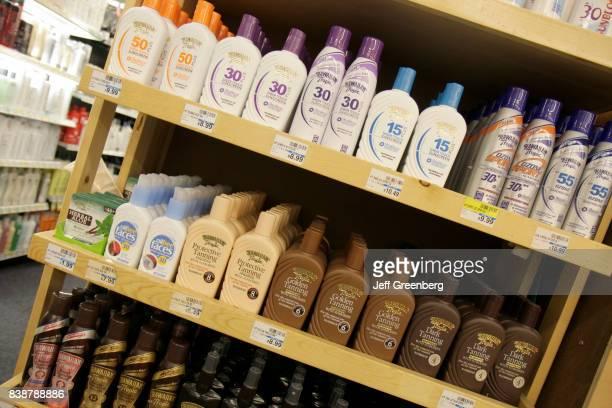 Sunscreen for sale at CVS Pharmacy