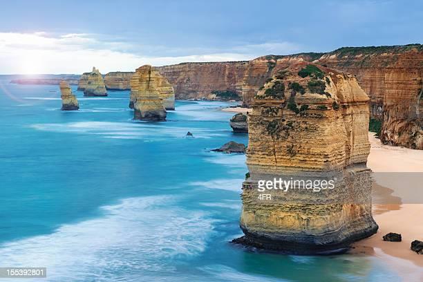 Tramonto 12 Apostoli, Great Ocean Road, Victoria, Australia (XXXL)