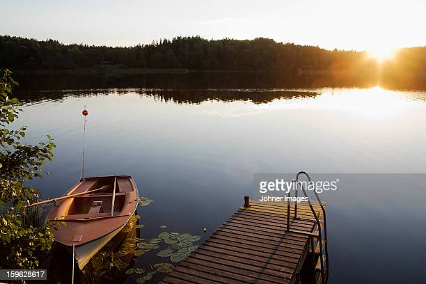 Sunset, Akersberga, Sweden.