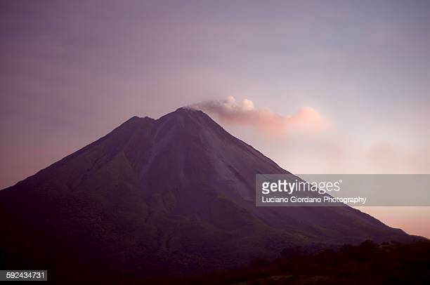 Sunset at Arenal's Volcano