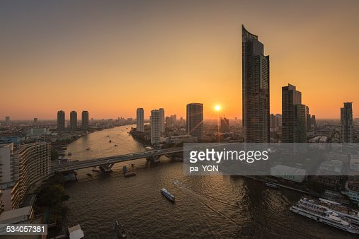 Sunset at Bangkok