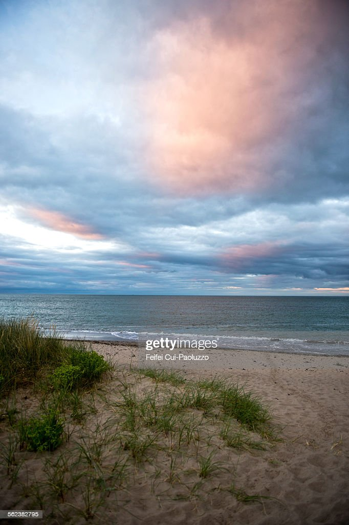 Sunset at Beach of Rosslare County Wexford