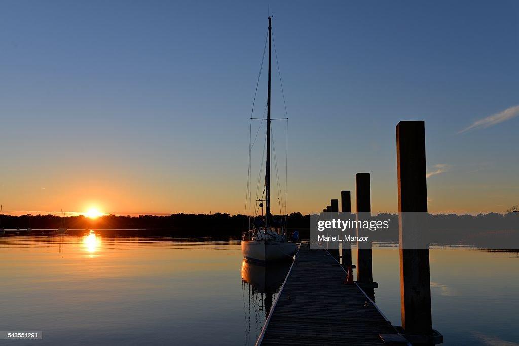 Sunset at Beaufort