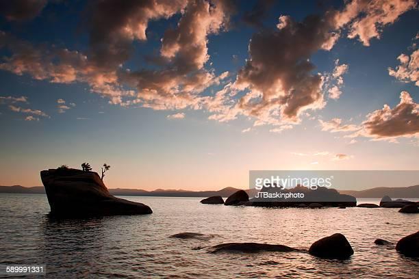 Sunset at Bonsai Rock - Lake Tahoe, CA