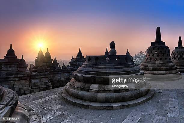 Sunset at Candi Prambanan