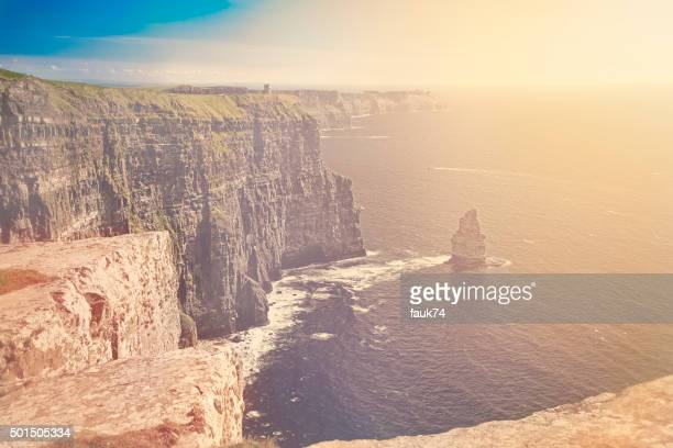 Sunset at Cliffs of Moher, Ireland