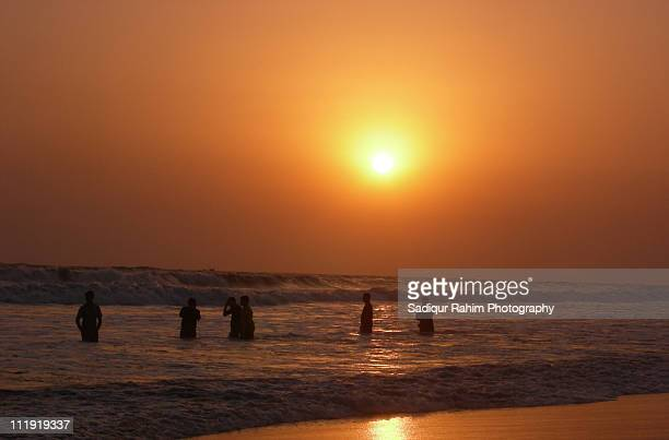 Sunset at Cox's Bazar