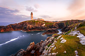 Sunset at Fanad Head Lighthouse, County Donegal