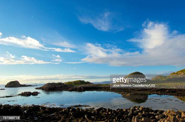Sunset at Fionnphort, Mull, Inner Hebrides, Argyll and Bute, Scotland, United Kingdom