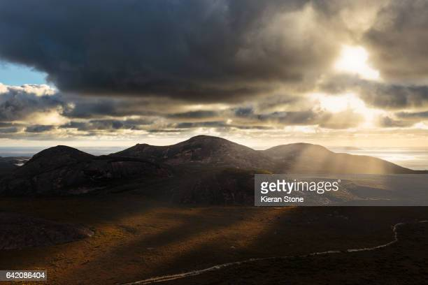 Sunset at Frenchmans Peak