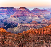 sunset at grand canyon national park