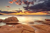 Sunset at Honeymoon Bay