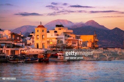 Sunset at Ierapetra, Crete, Greece