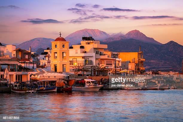 Sunset at Ierapetra, Crete, Greece