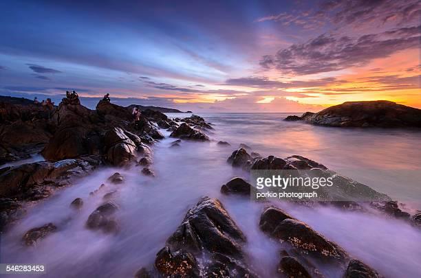 Sunset at Kalim Beach