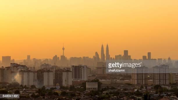 Sunset at Kuala Lumpur