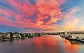 Sunset at Lagoon
