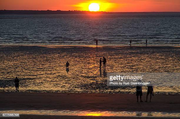 Sunset at Mindil Beach