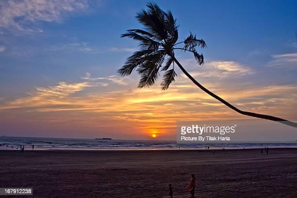 Sunset at Murud