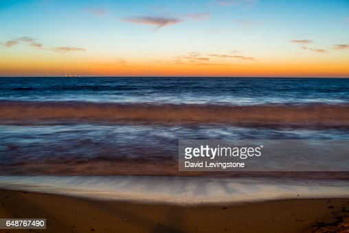 Sunset at North Beach, Perth, Western Australia : Stock-Foto