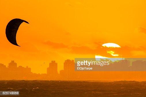 Sunset at Punta del Este