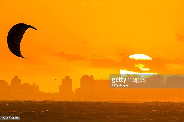 Sunset at Punta del Este