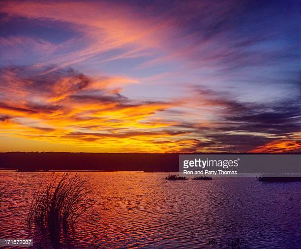 Sunset at Pyramid Lake, Nevada