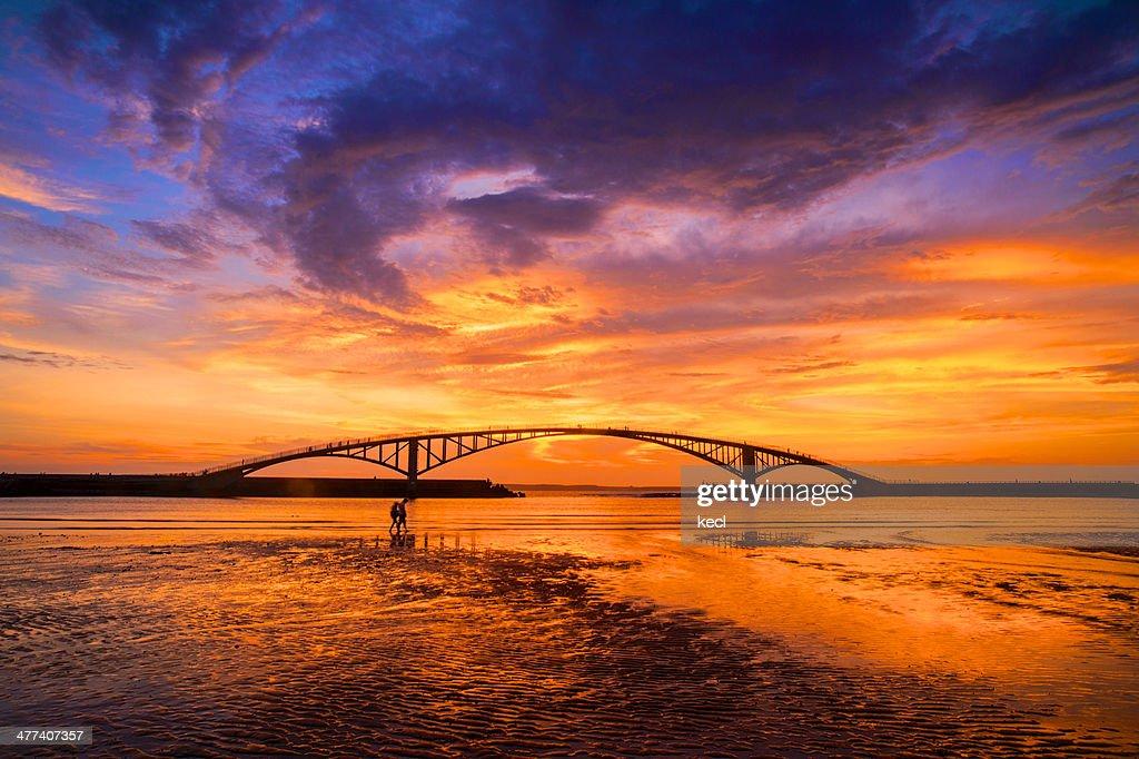 Sunset at Rainbow Bridge