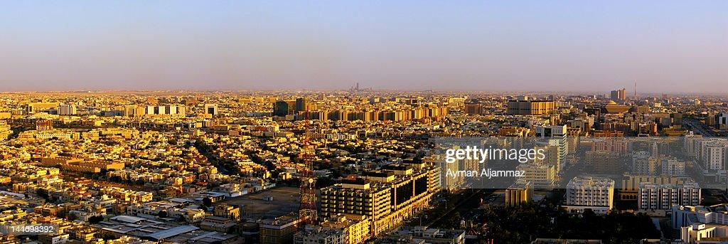 Sunset at Riyadh