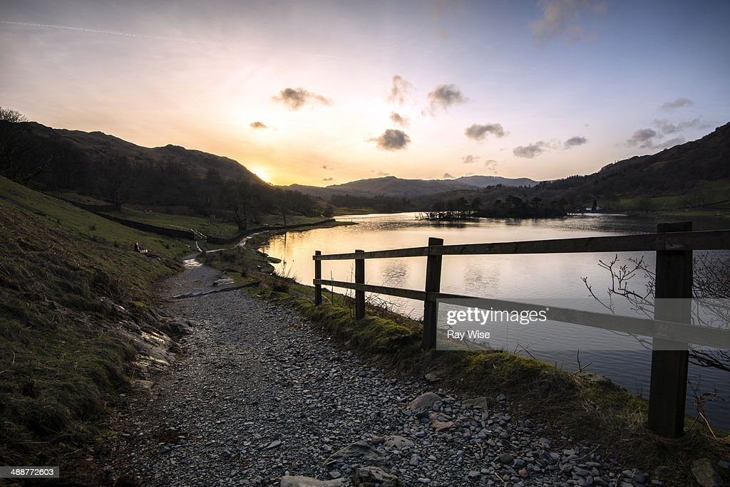 Sunset at Rydal