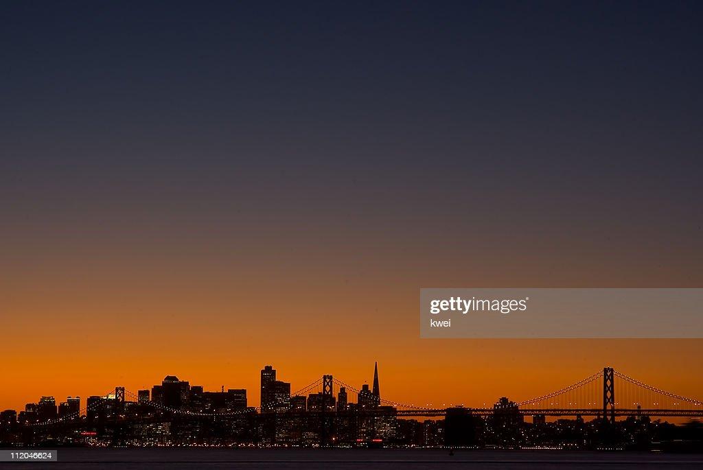 Sunset at Shoreline Park