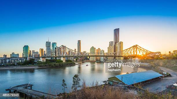 Sunset at Story Bridge, Brisbane