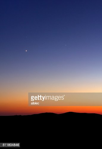 Sunset background : Stock Photo