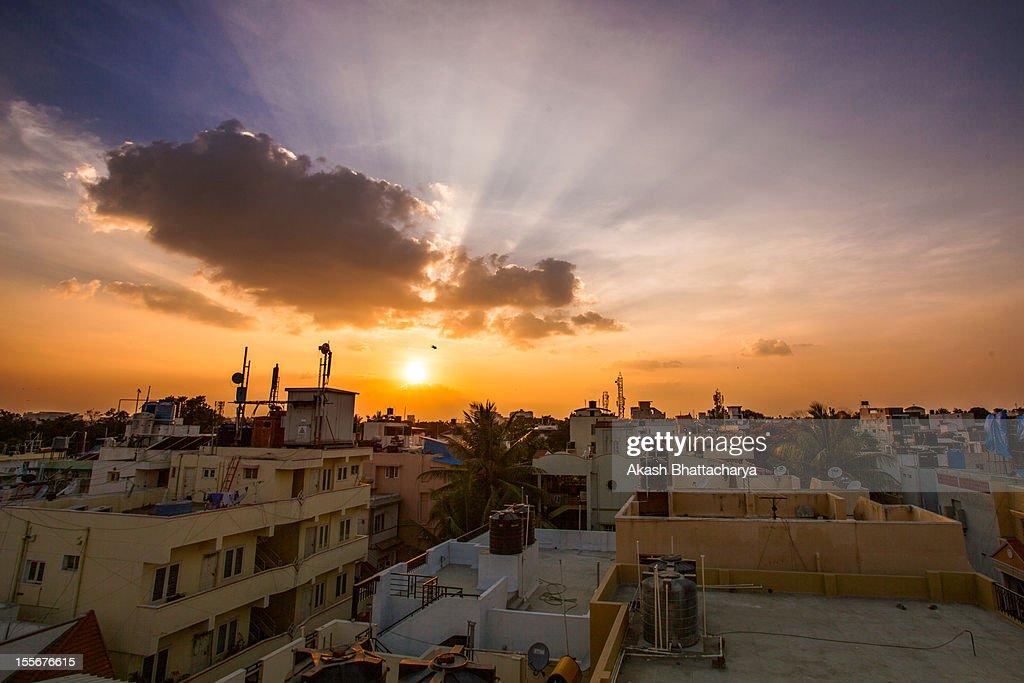 Sunset   Bangalore