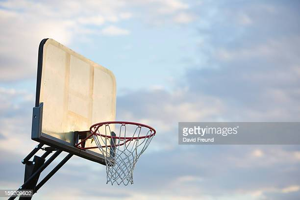 Sunset Basketball Hoop