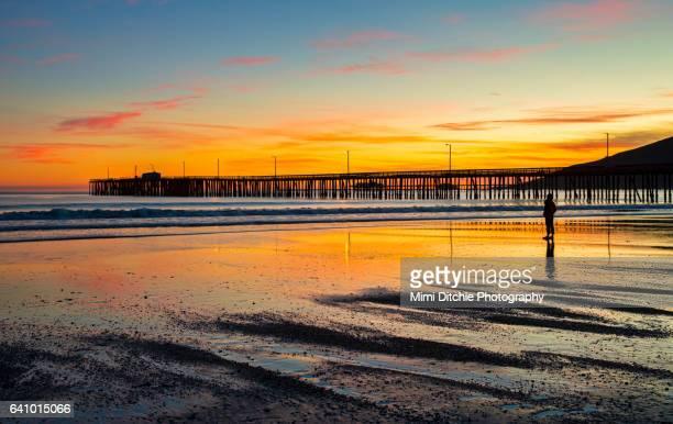 Sunset Beyond The Pier