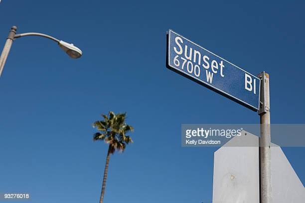 Sunset Blvd, Los Angeles, CA