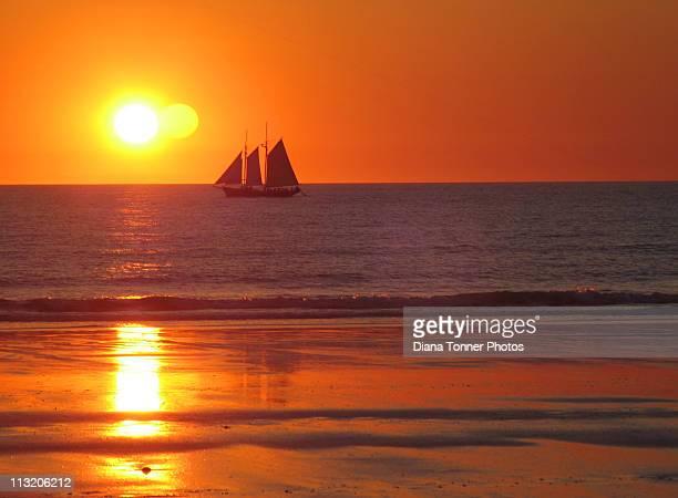 Sunset Broome, Western Australia.
