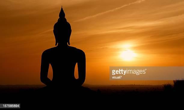 Sunset Buddha