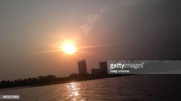 Sunset - Chennai