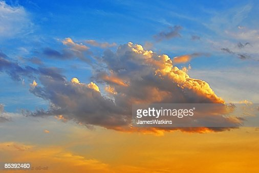 Sunset Clouds : Stock Photo