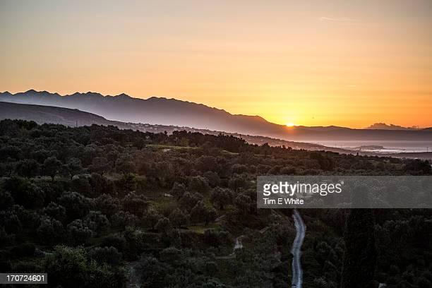Sunset Crete, Greece