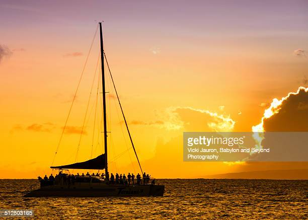 Sunset Cruise on Kaanapali Beach, Maui