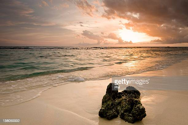 Sunset Dominican republic bayahibe