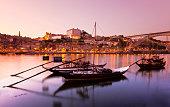 Sunset Douro river (Oporto)