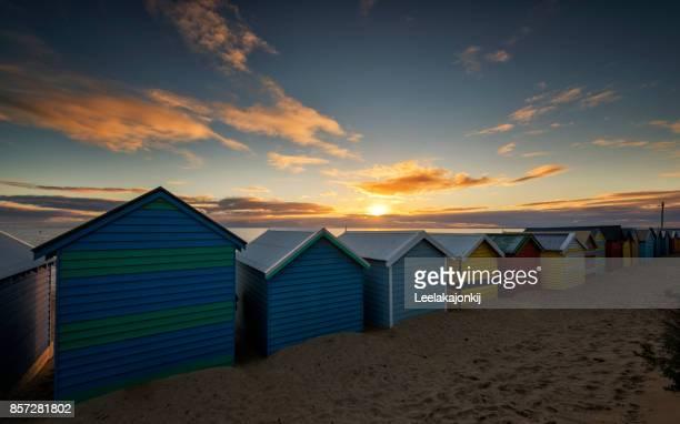 Sunset from Brighton beach