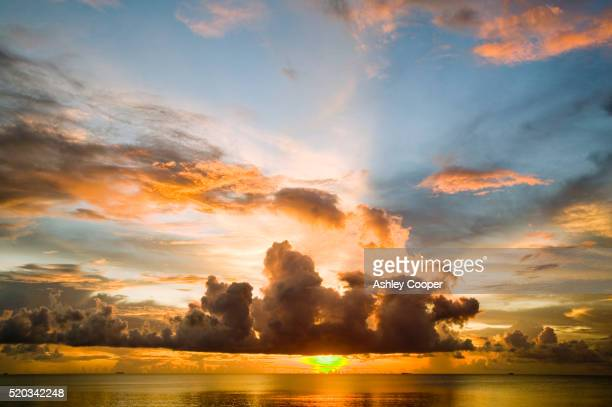 Sunset from Funafuti Atoll