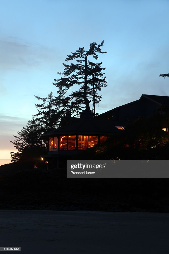 Sunset Hotel : Foto de stock